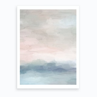 Atlantic Ocean Sunrise Art Print