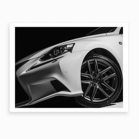F Sport Profile Art Print