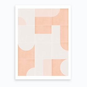 Retro Tiles 05 Art Print