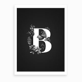 Wild   B Art Print