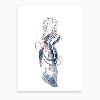 Cozy Af Art Print