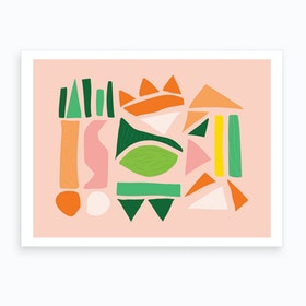 Watermelon Punch Art Print