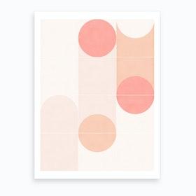 Retro Tiles 09 Art Print