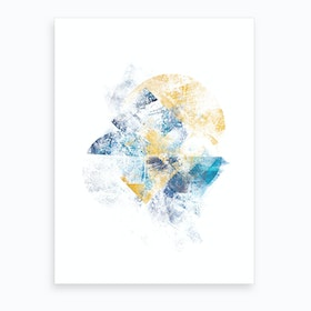 Mystic Horizon   Abstract Painting Vi Art Print