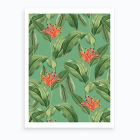 Summer Tropic Art Print