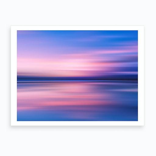 Abstract Sunset III Art Print