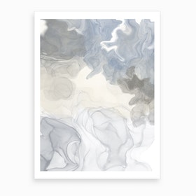 Grey Home II Art Print