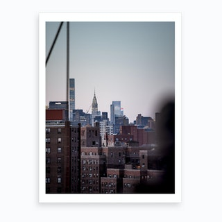 Manhattanites Iii  Art Print