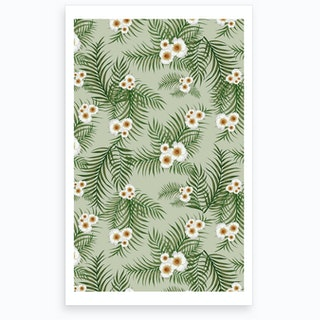 Vintage Jungle Pattern Art Print