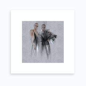 Valentino Art Print