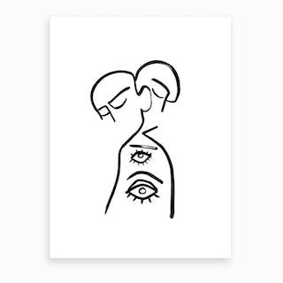 Eye Want You Art Print