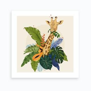 The Giraffe I Art Print
