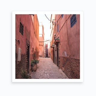 Moroccan Street Marrakech Art Print