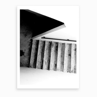 Stairs Composition Art Print