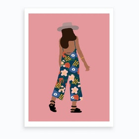 Summer Girl Art Print