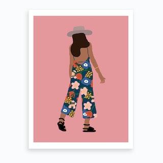Summer Girl Art Print