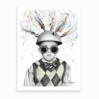 The Ideas Boy Art Print