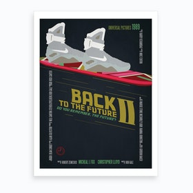 Back To The Future 2 Art Print