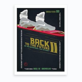 Back To The Future 2 Art Print