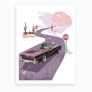 Slow Love Art Print