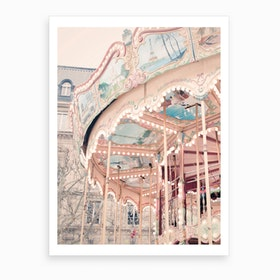 Vertical Carousel Art Print
