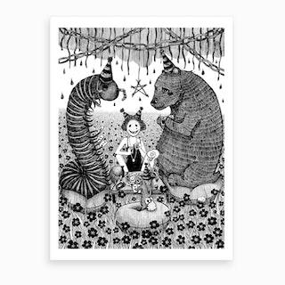 Beltane Gamble Art Print