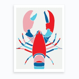 American Lobster Art Print