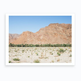Rocky Desert Landscape 2 Art Print
