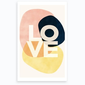 wrong Shapes Of Love Art Print