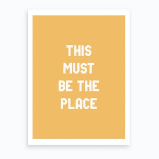 The Place Art Print