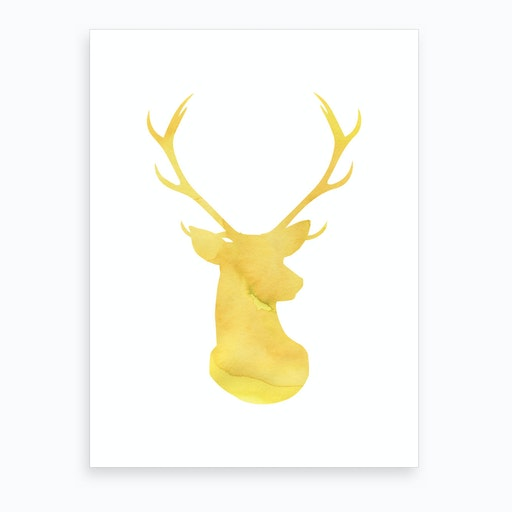 Dear Yellow Art Print