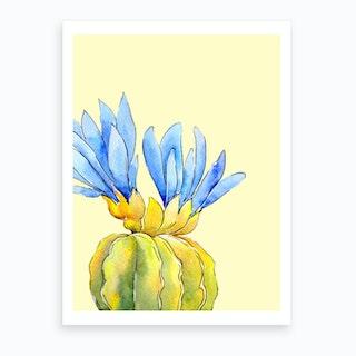 Pastel Cactus Ii Art Print