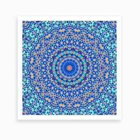 Abstract Mandala I Art Print