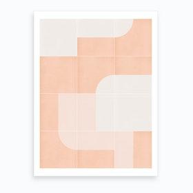 Retro Tiles 04 Art Print