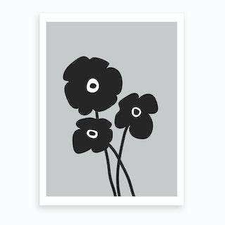 Poppy III Art Print