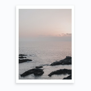 Milky Sunset V Art Print