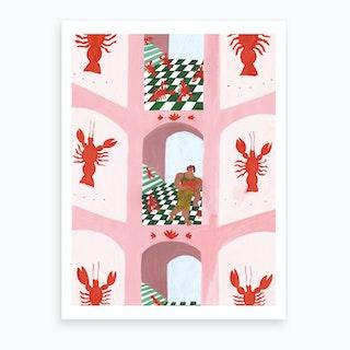 Lobster House Art Print