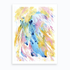 Messy Thoughts Art Print