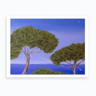 Stone Pines 3 Art Print