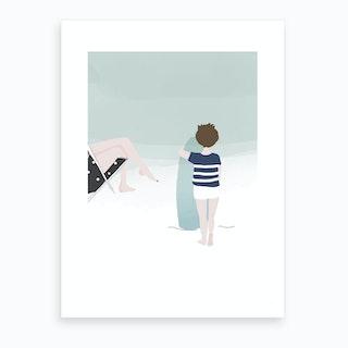 Lucien Art Print