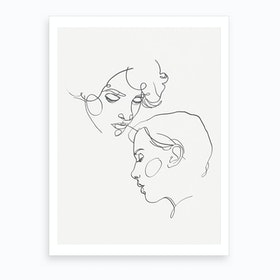 Mike And Eleven Art Print