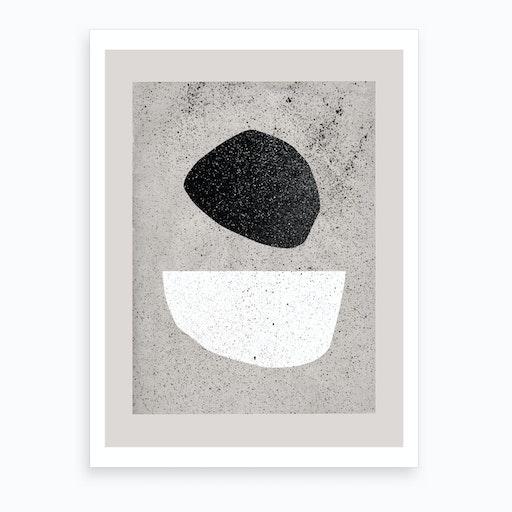 Pebbles Art Print