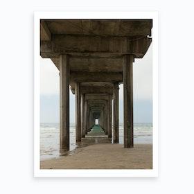 Scripps Pier Art Print