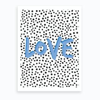 Bluelove Art Print