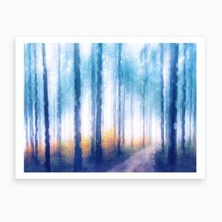Artistic CVII   Dreamy Forest II Art Print