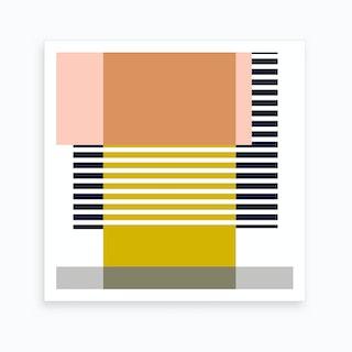 Marfa In Multi Art Print