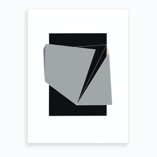 Gray Cover I Art Print