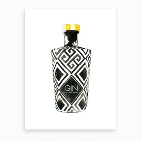 Gin Is My Spirit Animal Art Print