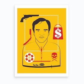Tarantino Directors Cut Art Print