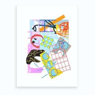 Picnmix Art Print